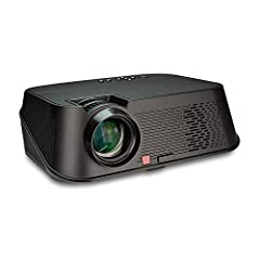 ★★ projector ★ 3500 lumens projector ★ HD 1080p projector ★ Dual Speaker ★ 20000 hours led lamp ★ Watch Even with Some Light on ★ For most video projectors under 3000 lumens, they can only be used at dark environment. ★★ While with upgraded 3...