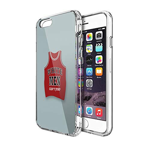 Case Phone Anti-Scratch Cover Motion Picture White Men Can't Jump Alternative Movie Sports Movies (4.7-inch Diagonal Compatible with iPhone 6, iPhone 6s)