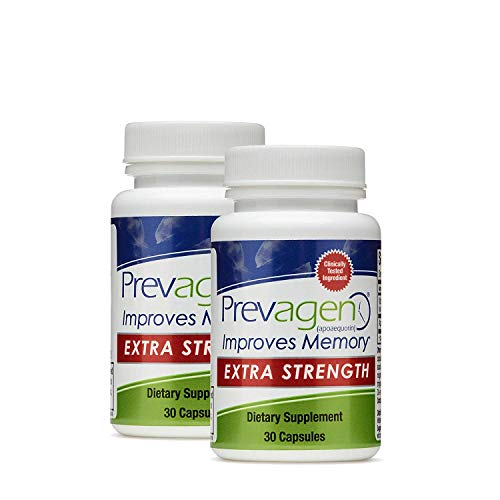 40 Mg 90 Capsules - Prevagen Extra Strength - Twin Pack