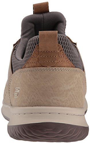 Camben Skechers Hombre Zapatillas para Delson Beige C5v5wRq