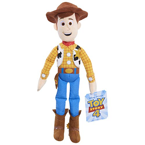 Toy Story 21046 4 Pull String Talking Woody Toy, Multicolor (Plush Talking Woody Toy Story)