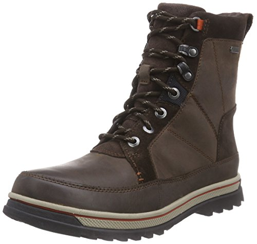 Clarks Ripwaypeak GTX, Stivaletti Uomo Marrone (Brown Wlined Lea)