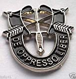 Handsome Enamel Lapel pins - Special Forces DE OPPRESSO Military Veteran Hat Pin - Unique Pins and Brooches