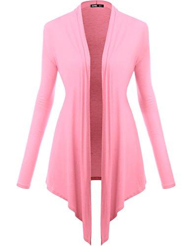 TWINTH Drape Cardigan Plus Size Open Front Longsleeve Cardigan Sweaters