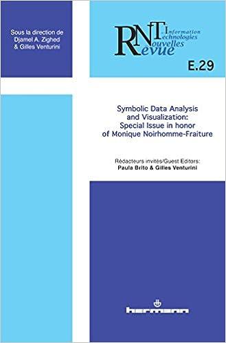 Revue Des Nouvelles Technologies De Linformation Ne 29 Symbolic