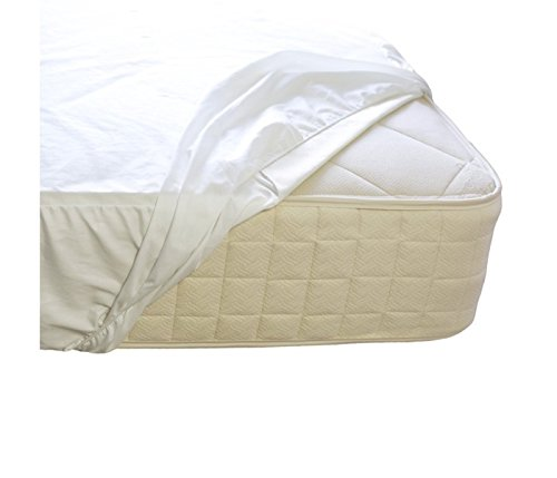 Naturepedic Organic Waterproof Fitted Stretch Knit Protector Pad - King