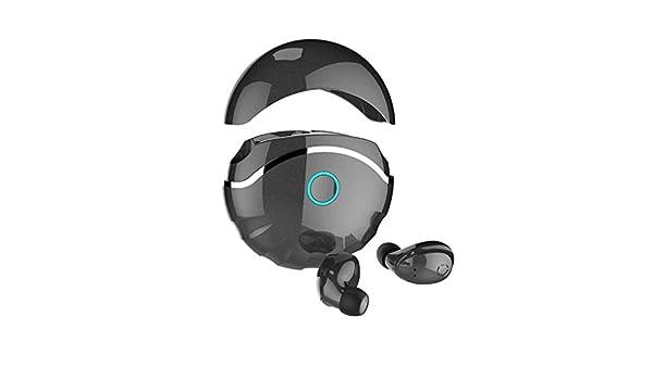 CAOQAO BT5.0 A6 - Auriculares Bluetooth inalámbricos + 600 mAh con ...
