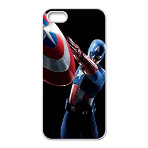 iPhone 4 4s Cell Phone Case White Captain America E3W0J