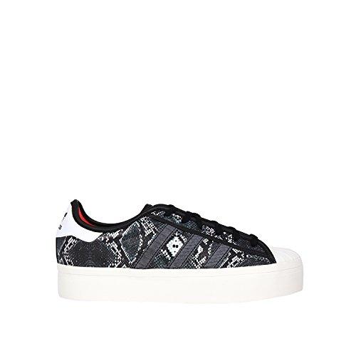 adidas Superstar W, Zapatillas de Running, Mujer Negro (black)