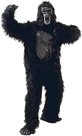 Disfraz de gorila de pecho de caucho tamaño adulto: Amazon.es ...