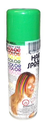 Forum Novelties Neon Green Temporary Hair Spray