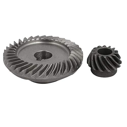 - uxcell 90 Degree Shaft Angle Replace Part Conical Spiral Bevel Gear Set