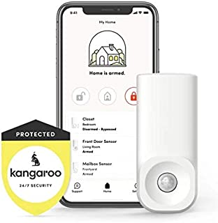 Amazon.com: Kangaroo Home Security Motion + Entry Sensor (2 ...