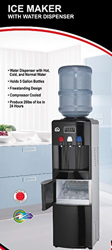 Amazon.com: Igloo Water Cooler/Dispenser With Ice Maker, White: Kitchen U0026  Dining
