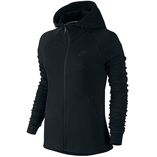 b9c90219d754 Galleon - Nike Women s Tech Fleece Moto Cape Jacket