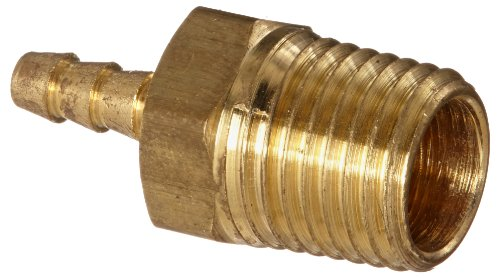 Anderson Metals 57001 Brass Hose Fitting, Adapter, 1/8