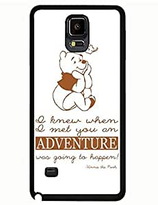 Akatsuki Galaxy Case's Shop Classic Designed Tough Case for Samsung Galaxy Note 4 With Winnie the Pooh Picture Printed Phone case 6585394M950341078