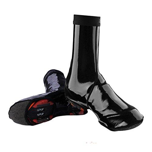 Waterproof Cycling Shoe Covers - RockBros Cycling Shoe Covers Outdoor Sports Waterproof Warmer Windproof Winter Rain Bike Overshoes