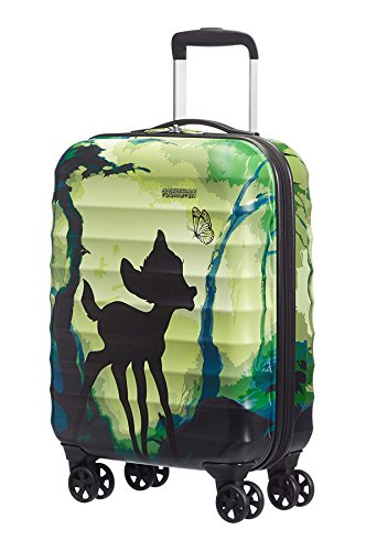 American Tourister by Samsonite Disney Edition Spinner Maleta Juego de 3(S M L), incluye colgante