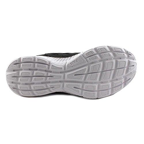 Faction Fila 2 Running Womens Memory Shoe Silver Metallic White Black EEpq4