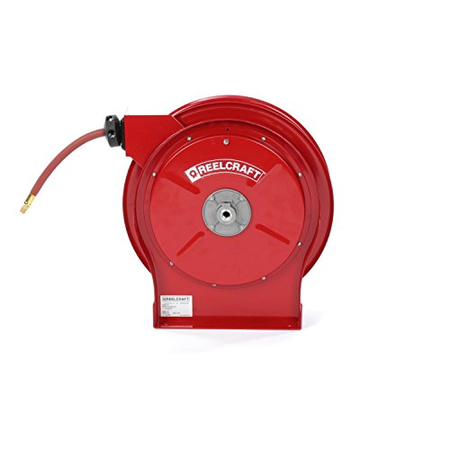Reelcraft 5650 OLP 3/8-Inch by 50-Feet Spring Driven Hose Reel for (Reelcraft Reel)