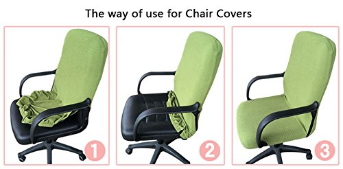 amazon com trycooling modern simplism style chair covers cotton