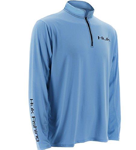 Marolina Outdoor H1200065CBLXXL Huk Icon 1/4 Zip Jacket, Carolina Blue, XX-Large