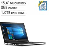 "Dell Inspiron New 5000 Series 15.6"" FHD Touchscreen Laptop (i7-6500U, 8GB RAM, 1TB HDD, Windows 10)"