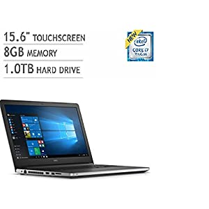 "Dell Inspiron 5000 Series 15.6"" FHD Touchscreen Laptop (i7-6500U, 8GB RAM, 1TB HDD, Windows 10)"