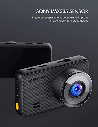 Parking Monitor Front and Rear Camera for Cars with 3 Inch IPS Screen Support 128GB Motion Detection APEMAN 1440P/&1080P Dual Dash Cam Driving Recorder with IR Sensor Night Vision 1520P max