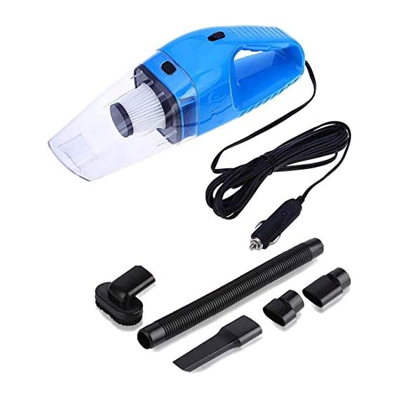 Onshoppy Handheld Car Vacuum Cleaner 120W 12V Portable Wet/Dry Auto Car Vacuum Dust Buster with 16.4FT (5M) Power Cord