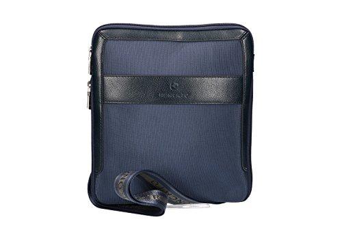 Bandolera hombre RONCATO bandolera azul bolsa plana porta tablet