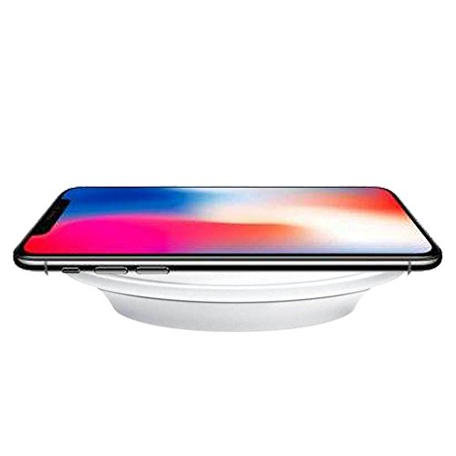 Price comparison product image Hot Sale! Qi Wireless Charger,Sunfei Charger Pad for Apple iPhone X iPhone 8 iPhone 8 Plus (White)