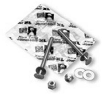 Oatey 90174 Extra-Long Brass Closet Johni-Bolts - Quantity 100 by Oatey