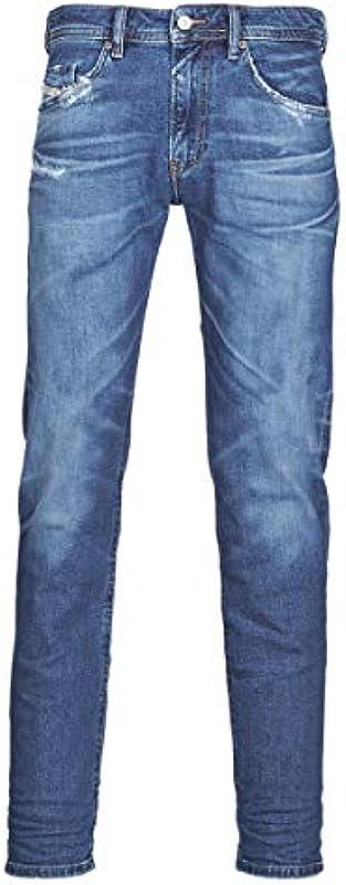 Diesel Thommer-X L.32 dżinsy męskie, 01 Blue Denim, 28: Odzież