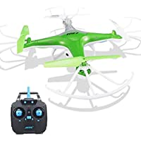 Owill JJRC H97 2.4GHz 4CH 6-Axis LED With Camera RC 0.3M HD Camera Quadcopter Drone (Green)
