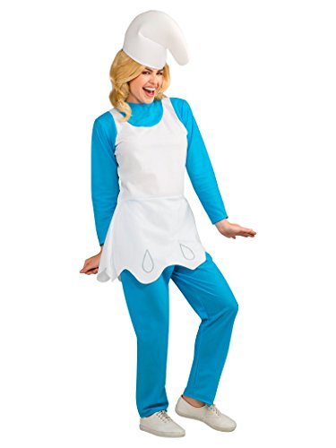 Rubie's Women's Smurfette Adult Costume, Smurfs: the Lost Village, Standard -
