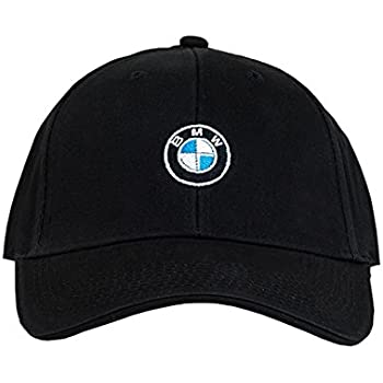 20fe73b4aed Amazon.com  BMW Genuine Roundel Cap - Black  Automotive