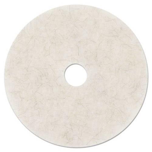 3300 Nat blend hi-spd burnish pad 24in white 5 [PRICE is per CASE] by 3M