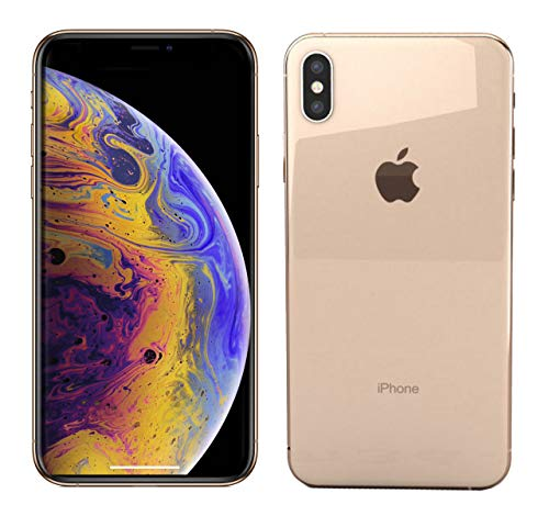 Apple iPhone Xs Max, Boost Mobile, 64GB - Gold - (Renewed)