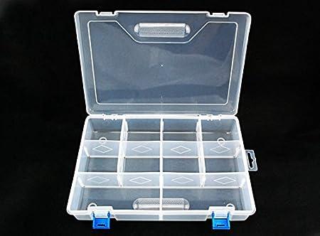GigaMax (TM) alarma avisadora de picada pesca Tackle Boxes Caja de almacenamiento caso mosca carpa accesorios de pesca Alicate de pesca Caixa de Ferramentas porta Joias: Amazon.es: Deportes y aire libre