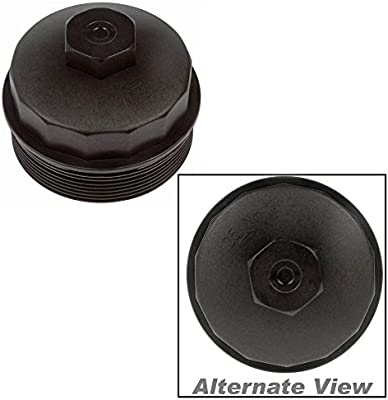 Dorman Oil Filter Housing Cap /& Fuel Filter Cap w// Gasket for Ford F250 F350 New