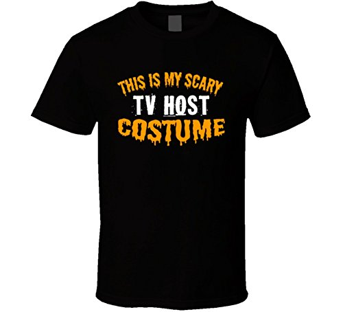 This is My Scary Tv Host Costume Funny Cool Halloween T Shirt S (Tv Hosts Halloween Costumes)