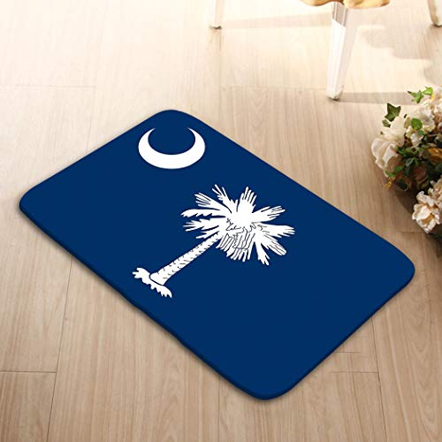 - YILINGER Washable Fabric Placemats for Dining Room Kitchen Table Decor 23.6 W X 15.7 W Inches South Carolina Flag United States o America
