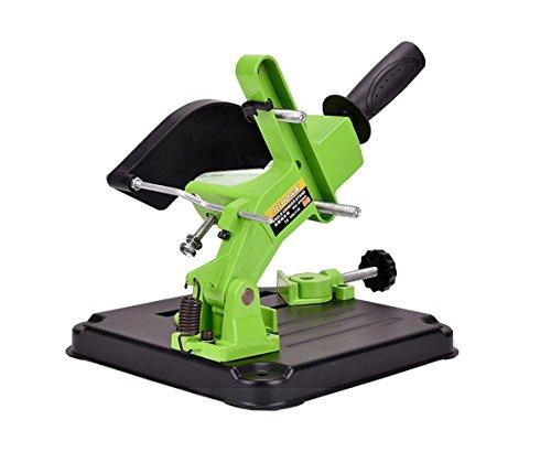 AMYAMY Angle Grinder Stand Grinder Holder Cutter Support Aluminum bracket Cast iron base100 115mm angle grinder cutting by yklison