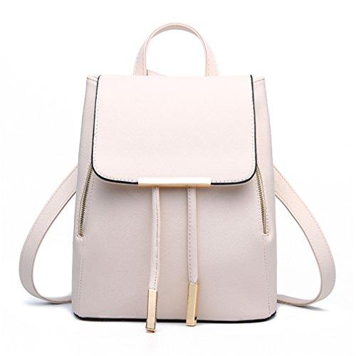 Schoolbag leather 2018 Pahajim cute purse White women backpack Fashion for women rzXxqXgf