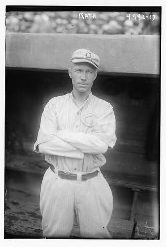 Historic Photographs, LLC Photo: Morrie Rath,Cincinnati National League Baseball,Reds,Uniforms,Athletes,Dugout