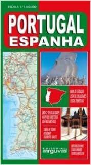 Mapa de Carreteras de España y Portugal Portugués MAPAS DE ...