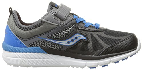 black Kid Alternative Sneaker Closure Grey blue Volt Saucony little wROq0ggx