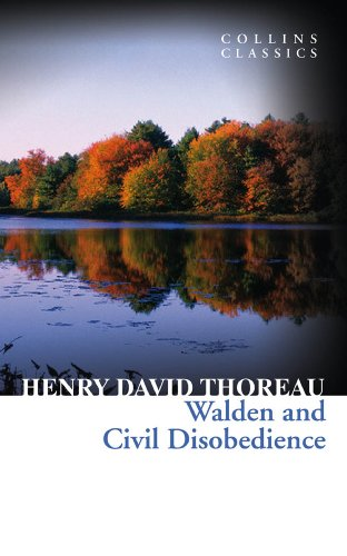 Walden and Civil Disobedience (Collins - Pond The Hut By